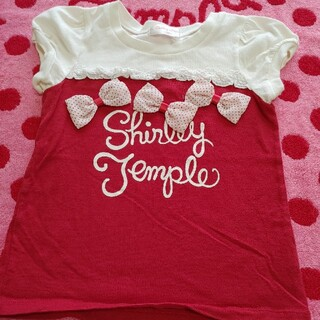 Shirley Temple - シャーリーテンプル リボン🎀トップス
