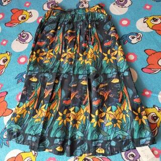 アトリエドゥサボン(l'atelier du savon)のうさぎのステンドグラススカート(ロングスカート)