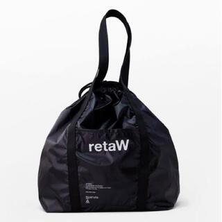 フラグメント(FRAGMENT)の新品未使用 retaW × fragment nylon tote bag(トートバッグ)