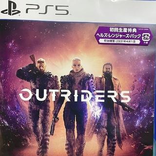 プレイステーション(PlayStation)のPS5 アウトライダーズ OUTRIDERS(家庭用ゲームソフト)