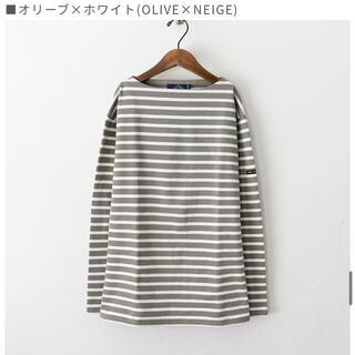SAINT JAMES - 美品【SAINT JAMES/セントジェームス】ボートネックTシャツ T4グレー