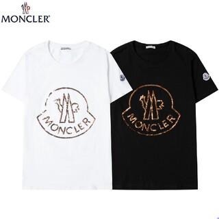 MONCLER - 『2枚10000円』MONCLER 夏 半袖Tシャツ#01