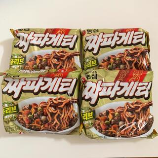 チャパゲティ 農心 8個セット 韓国インスタントラーメン ジャージャー麺