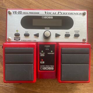 ボス(BOSS)のBOSS・VE-20・ボーカルエフェクター(エフェクター)