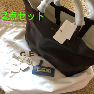 DEUXIEME CLASSE - CELERI/セルリ TOTE BAG ・GOOD BITE MINI CASE