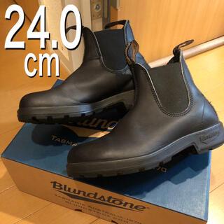 Blundstone - 【美品】ブランドストーン UK4(約24cm)ブラック