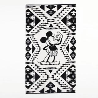 ペンドルトン(PENDLETON)のペンドルトン ディズニー ミッキーコラボ ジャガードバスタオル ソファーカバー(タオル/バス用品)