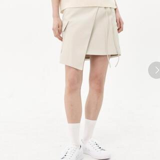 FEKETE ラッピングスカート(ミニスカート)