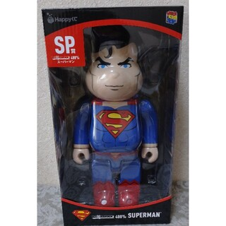 Happyくじ DC BE@RBRICK SP賞 スーパーマン  400%