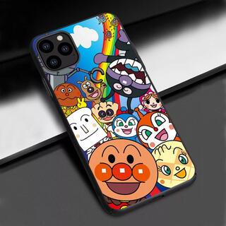 アンパンマン(アンパンマン)の新品 アンパンマン バイキンマン ドキンちゃん iPhoneケース(キャラクターグッズ)