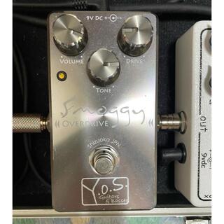 フェンダー(Fender)のY.O.S.ギター工房 smoggy overdrive 美品(エフェクター)