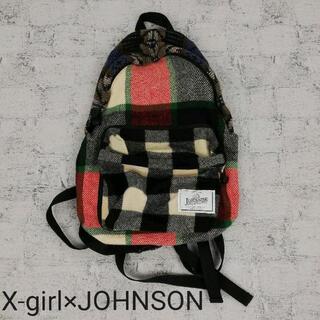 X-girl - X-girl×JOHNSON WOOLEN MILLS ウール リュック