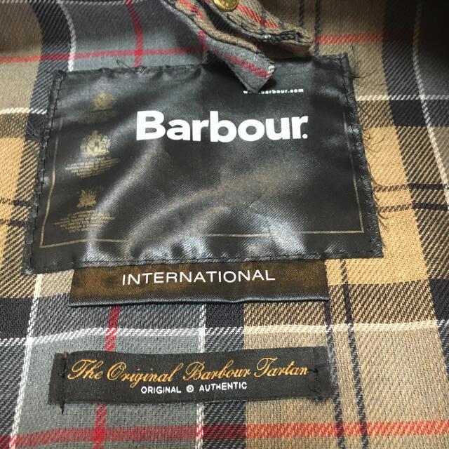 Barbour(バーブァー)のBarbour バブアー International サイズ36  美中古品 メンズのジャケット/アウター(その他)の商品写真