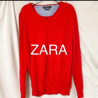 ザラ(ZARA)のZARA Vネックニット セーター(ニット/セーター)