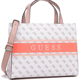 GUESS - 【 美品 】guess ゲス バッグ ホワイト