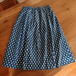 マリンフランセーズ(LA MARINE FRANCAISE)のマリンフランセーズ*ロングスカート*美品*日本製(ロングスカート)