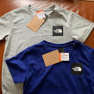 ザノースフェイス(THE NORTH FACE)の新品THE NORTH FACEキッズTシャツ2枚セット(Tシャツ/カットソー)