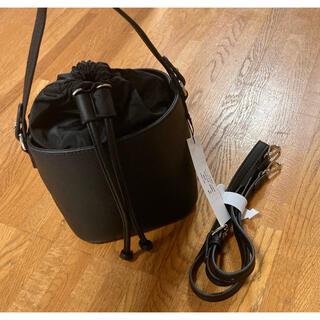 IENA - 新品未使用 ベースメントオンライン 2WAYショルダー付きドロストバッグ