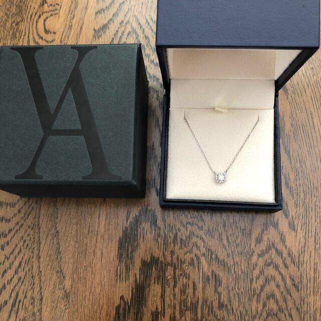 ヴァンドーム青山 ダイヤモンドエルヴェネックレス レディースのアクセサリー(ネックレス)の商品写真