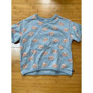 futafuta - futafuta くま総柄Tシャツ 100センチ