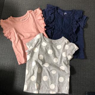 西松屋 - 西松屋 Tシャツ3点セット売り 80 90