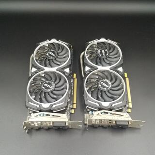 MSI RADEON RX 570 ARMOR 4G OC 2枚セット(PCパーツ)