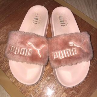 PUMA - puma fenty ピンクファーベナッシサンダル