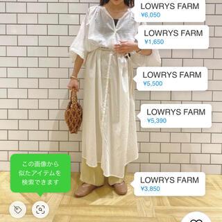 LOWRYS FARM - ボイルワンピース/7S