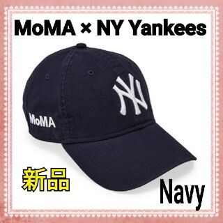 MOMA - 【新品】 MOMA x Yankees New Era Capネイビー