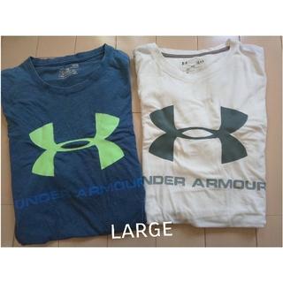 UNDER ARMOUR - □  アンダーアーマー Tシャツ 2枚セット