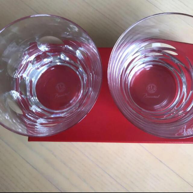 Baccarat(バカラ)のBaccarat ☆未使用☆バカラ タンブラー ローラ&ベルーガ セット インテリア/住まい/日用品のキッチン/食器(グラス/カップ)の商品写真