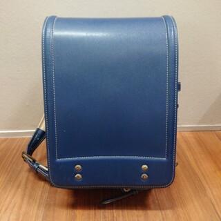 土屋鞄製造所 - ランドセル 青 土屋鞄 牛革
