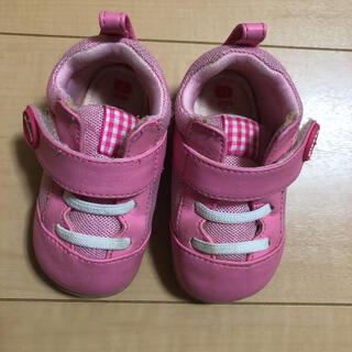 ピジョン(Pigeon)のピジョン 12cm ベビー靴 ピンク(スニーカー)