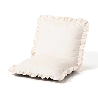 フランフラン(Francfranc)のフランフラン  カラン フロアチェア ホワイト(座椅子)