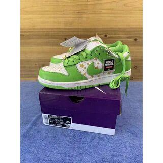 Supreme Nike sb dunk low green 26cm(スニーカー)