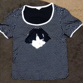 トゥービーシック(TO BE CHIC)のトゥービーシック水玉Tシャツ(Tシャツ(半袖/袖なし))