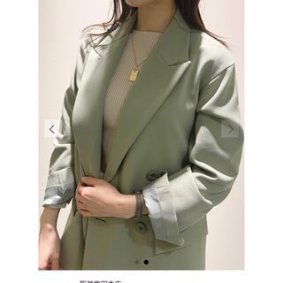 Mila Owen - ミラオーウェン 3点SETスーツジャケット ミント グリーン celford