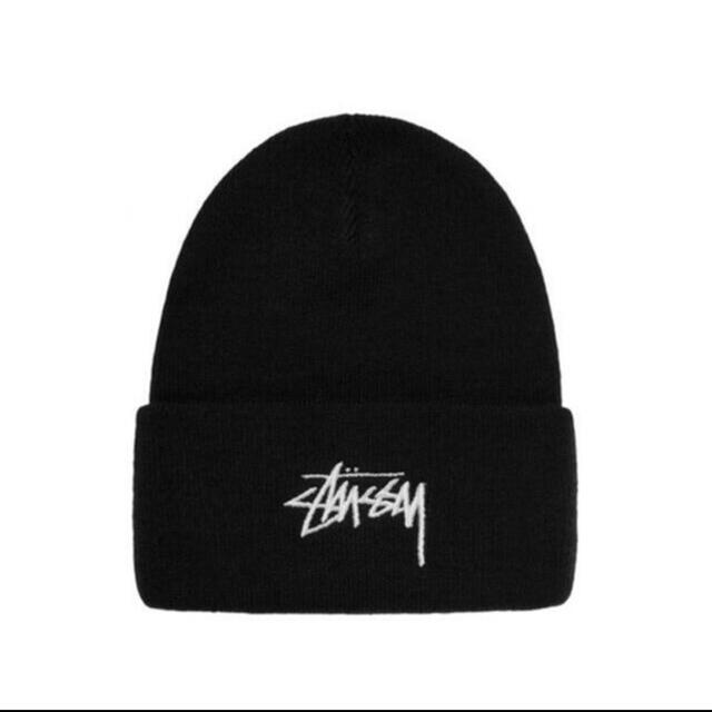 STUSSY(ステューシー)のstussy nike コラボ ビーニー ニット帽 メンズの帽子(ニット帽/ビーニー)の商品写真