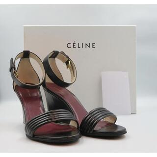 celine - CELINE サンダル サイズ23.5 ウェッジサンダル 未使用品