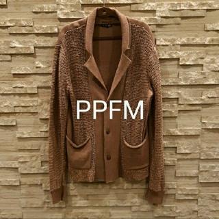 PPFM - PPFMニットカーディガン