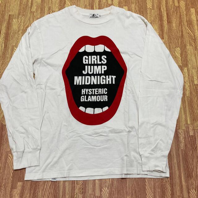 HYSTERIC GLAMOUR(ヒステリックグラマー)のヒステリックグラマーロングTシャツ メンズのトップス(Tシャツ/カットソー(七分/長袖))の商品写真