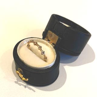カオル(KAORU)のAtelier KAORU*リング*k10×ダイヤ付き*9号(リング(指輪))