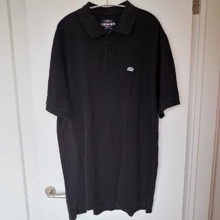 エコーアンリミテッド(ECKO UNLTD)のECKO UNLTD エコーアンリミテッド オーバサイズポロシャツ 黒 XXL(ポロシャツ)