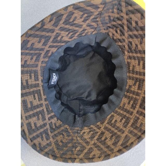 FENDI(フェンディ)のフェンディ 帽子 ハット 漁夫帽  レディースの帽子(ハット)の商品写真
