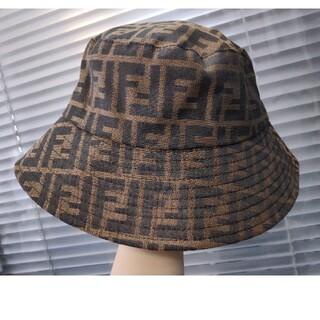 フェンディ(FENDI)のフェンディ 帽子 ハット 漁夫帽 (ハット)