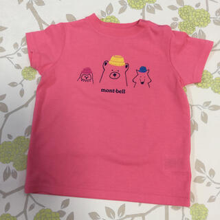 モンベル(mont bell)のトーティッキーさん専用【着用少なめ】モンベルTシャツ 80サイズ(Tシャツ)