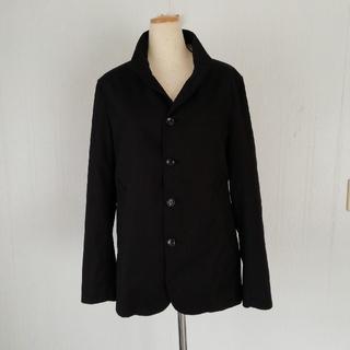 コムサイズム(COMME CA ISM)のCOMMECAISMメンズジャケット美品(黒色)(テーラードジャケット)