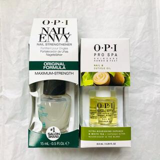 OPI - 《新品未使用》 OPI ネイルエンビー+キューティクルオイル