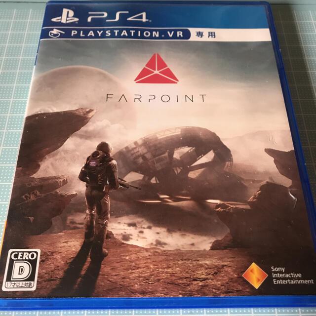 PlayStation4(プレイステーション4)のFarpoint PS4 エンタメ/ホビーのゲームソフト/ゲーム機本体(家庭用ゲームソフト)の商品写真