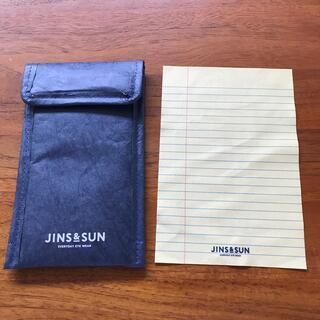 ジンズ(JINS)のJINS & SUN メガネケース メガネ拭き(サングラス/メガネ)